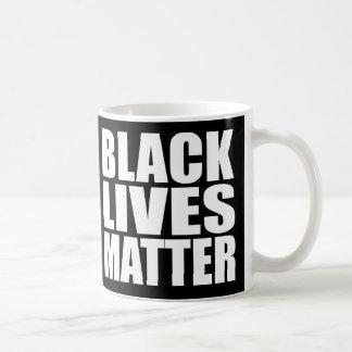 """""""BLACK LIVES MATTER"""" BASIC WHITE MUG"""