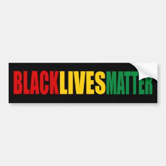 """""""BLACK LIVES MATTER"""" BUMPER STICKER"""