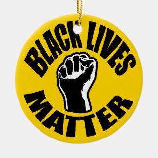 """BLACK LIVES MATTER"" CHRISTMAS ORNAMENT"