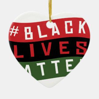 Black Lives Matter Christmas Ornament