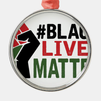 #Black Lives Matter Christmas Ornament