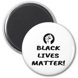 Black Lives Matter Fist Magnet