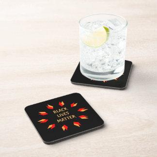 Black Lives Matter Hard Plastic Coasters