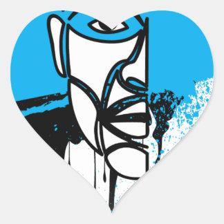 Black Lives Matter Heart Sticker