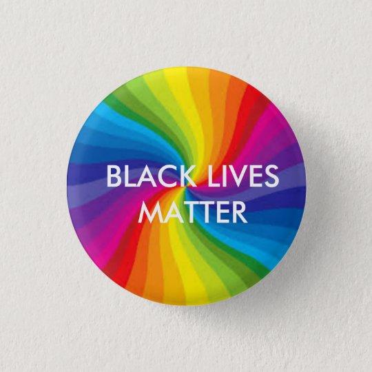 Black Lives Matter/LGBTQ 3 Cm Round Badge