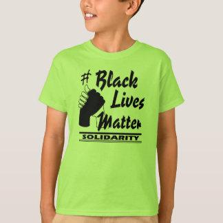 #Black Lives Matter Solidarity Kids T-Shirt