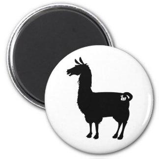 Black Llama Magnet