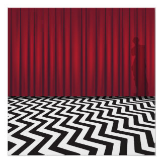 Black Lodge Photo Print