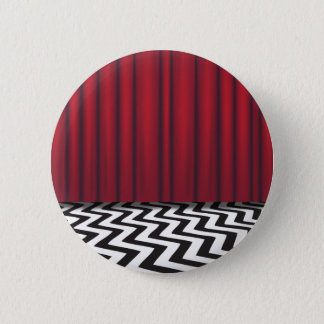 Black Lodge Red Room 6 Cm Round Badge