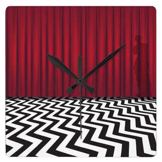 Black Lodge Red Room Clock