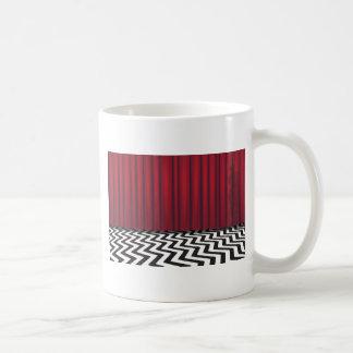 Black Lodge Red Room Coffee Mug
