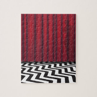 Black Lodge Red Room Jigsaw Puzzle
