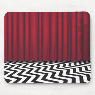 Black Lodge Red Room Mouse Mat