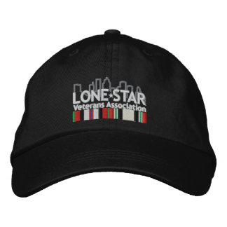 Black Logo Hat Embroidered Hats