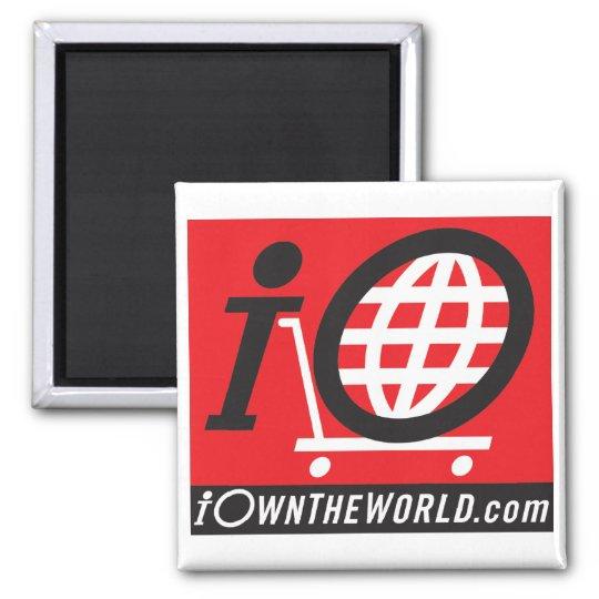 Black Logo Magnet