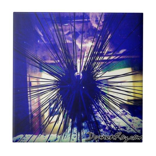 Black Longspine Urchin Tile