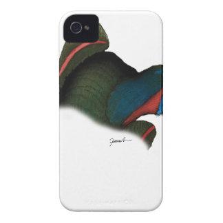 black lory parrot, tony fernandes iPhone 4 Case-Mate case