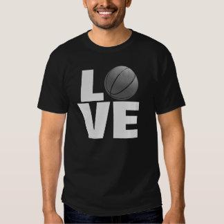 Black Love Basketball Sport T-Shirt