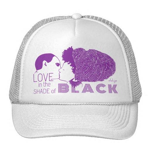 BLACK LOVE in PURPLE Hat