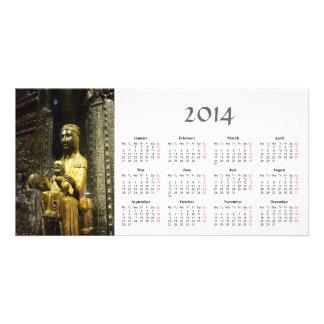 Black Madonna 2014 Calendar Photo Card