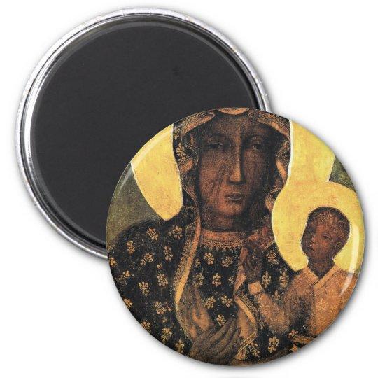 Black Madonna Poland Our Lady of Czestochowa print