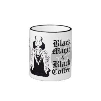 Black Magic & Black Coffee Mug