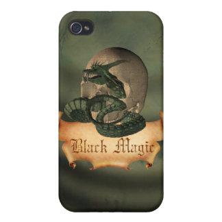 Black Magic Skull iPhone 4/4S Cover