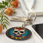 Black Magic Voodoo Basic Round Button Key Ring