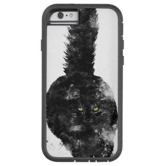 BLACK MAINE COON CAT - TOUGH XTREME iPhone 6 CASE