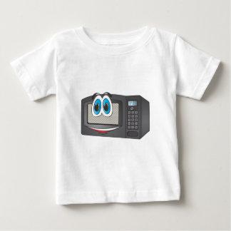 Black Male Cartoon Microwave Baby T-Shirt