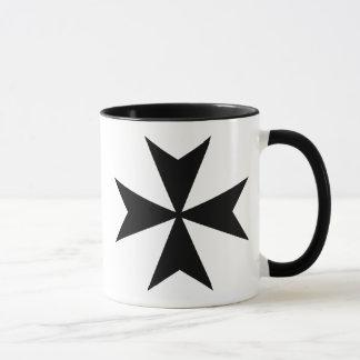 Black Maltese Cross