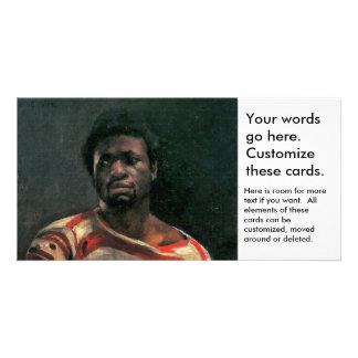Black man portrait Othello painting Lovis Corinth Photo Greeting Card