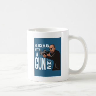 black man with a gun podcast coffee mugs