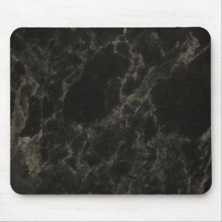 Black Marble Mouse Mat