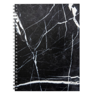 Black marble notebooks