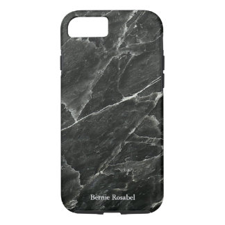 Black Marble Personalized iPhone 8/7 Case