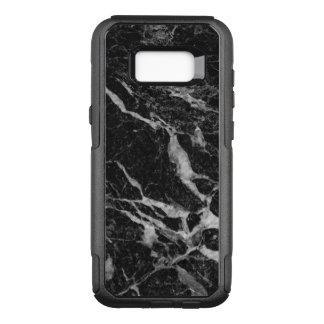 Black Marble Print Modern Design GR3 OtterBox Commuter Samsung Galaxy S8+ Case