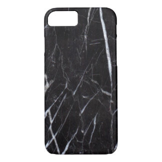Black Marble Stone Grain/Texture iPhone 7 Case