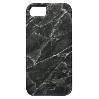 Black Marble Tough iPhone 5 Case