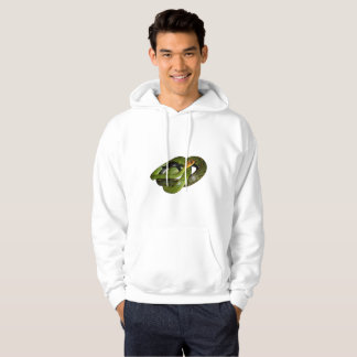 Black-margined Ratsnake or Green rat snake Hoodie