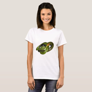 Black-margined Ratsnake or Green rat snake T-Shirt