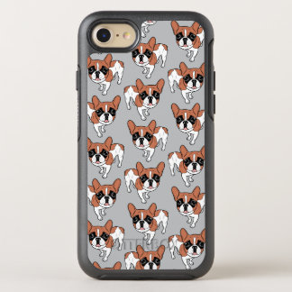 Black Mask Red Pied French Bulldog OtterBox Symmetry iPhone 8/7 Case