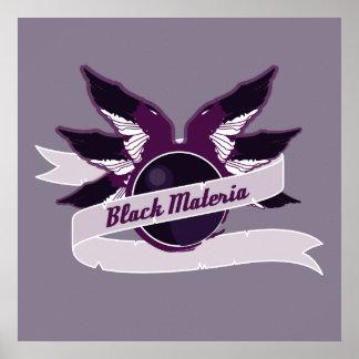 Black Materia Poster