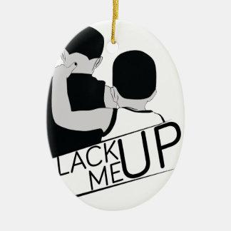 black me up christmas ornament