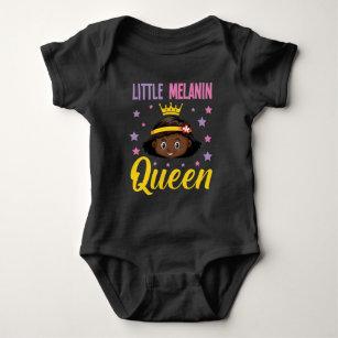 Black Melanin Queen for Daughter Niece Grandkid Baby Bodysuit