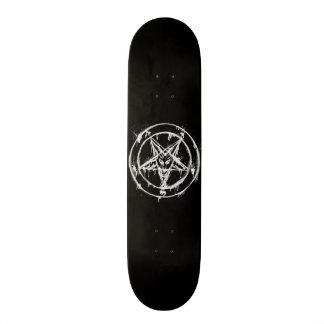 Black Messy Baphomet Skateboard