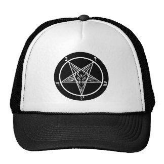 black metal, baphomet, lord of darkness! cap