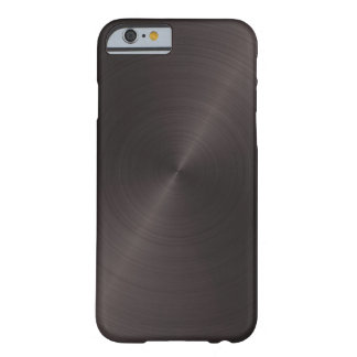Black Metal Barely There iPhone 6 Case