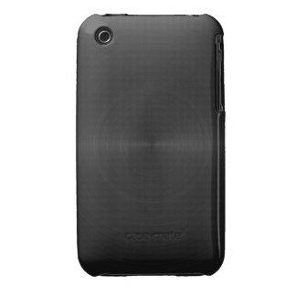 Black Metal Design Blackberry Curve case