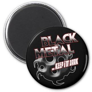 Black Metal music tshirt hat hoodie sticker poster 6 Cm Round Magnet